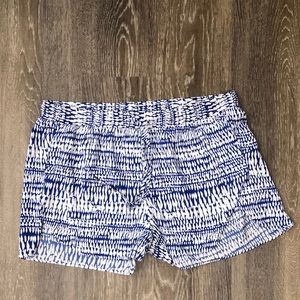 White and blue shorts. Size S